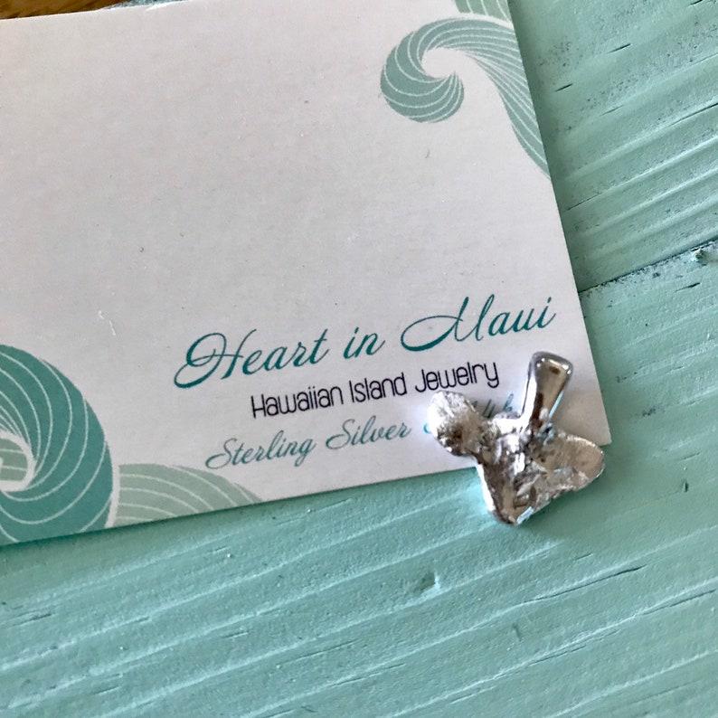 Maui Original Sterling Silver Pendant  Large it Dainty image 0