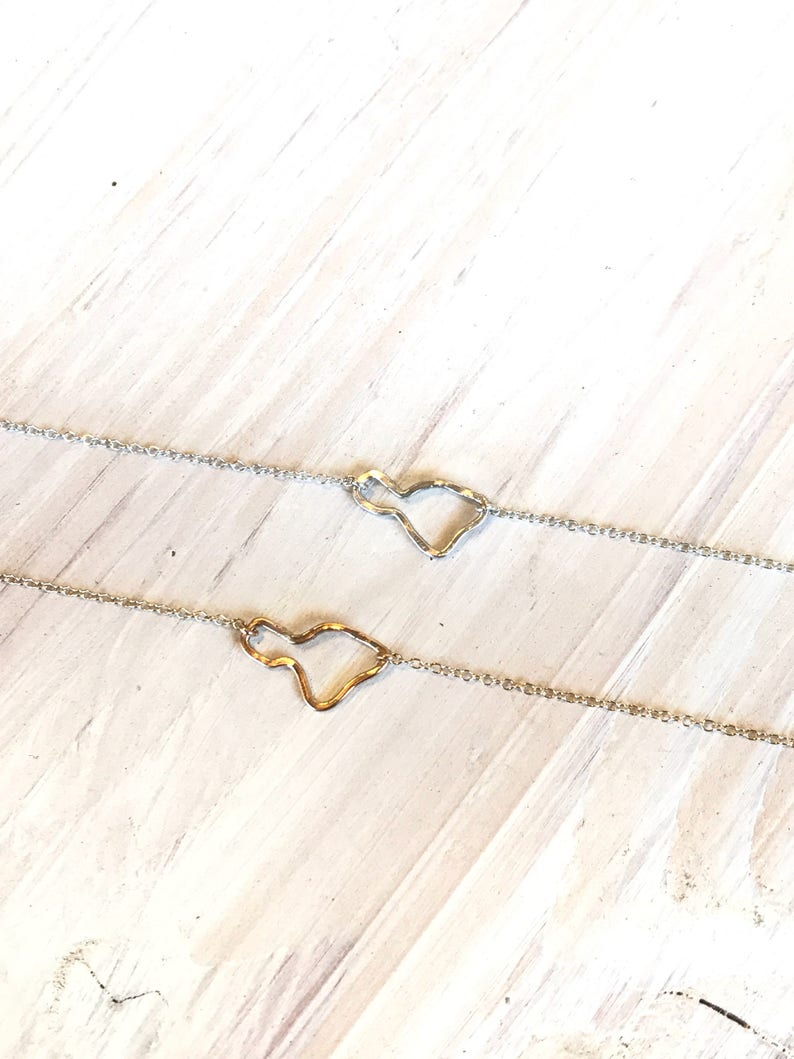 Maui Necklace 14K gf or Sterling Silver image 0