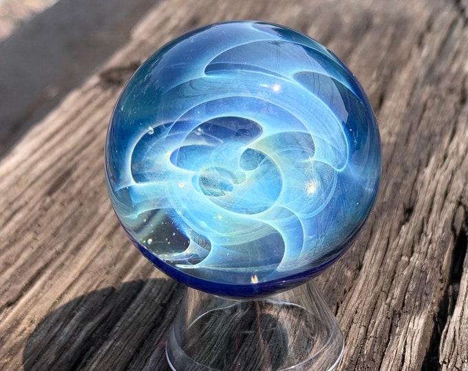 Silver Fume Galaxy Marble