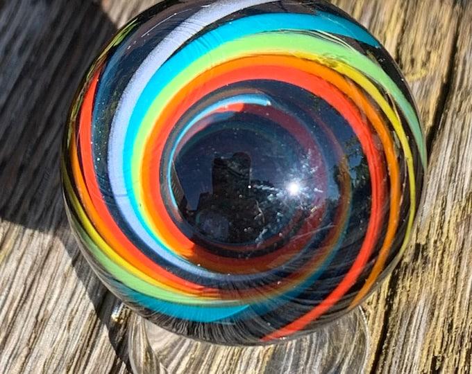 Rainbow Vortex Marble