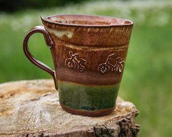 Beautiful Bicycle Mug