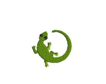 Mini Lizard Machine Embroidery Design-INSTANT DOWNLOAD