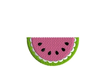Watermelon Slice Trio Sketch Digital Machine Embroidery File Please Read ENTIRE DESCRIPTION