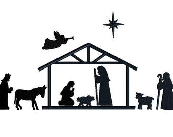 Image result for christmas manger