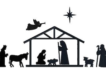 Image result for christmas manger