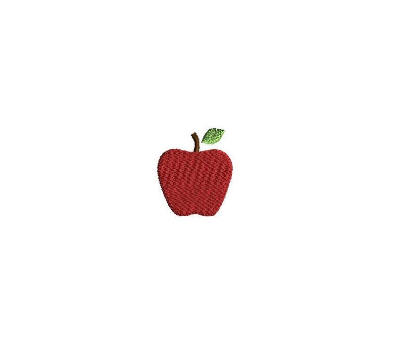 Mini Apple Machine Embroidery Design Instant Download Etsy