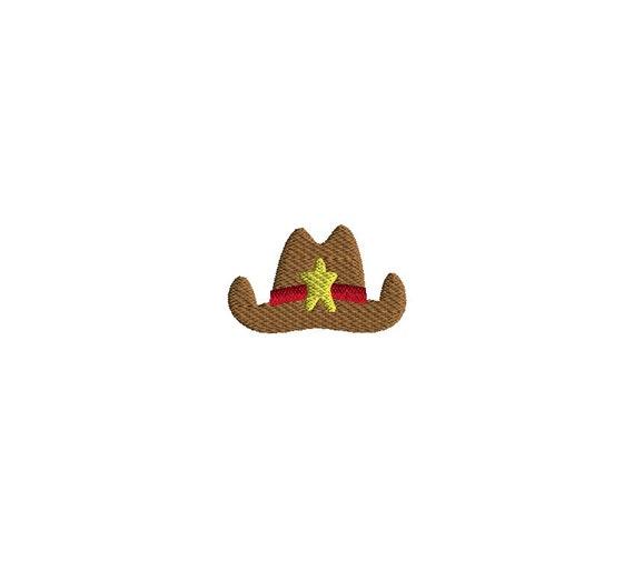 b5efc046e2f Mini Cowboy Hat Machine Embroidery Design-INSTANT DOWNLOAD