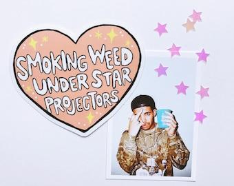 Drake Star Weed Vinyl Sticker