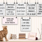 Upgrade to Music Sheet - Book and Music Lover Gift of Dictionary Art Print Literary Gifts Classical Music, Mary Poppins, Wizard of Oz & more