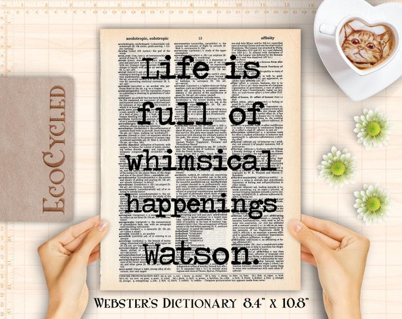 Life Full of Whimsical Happenings Sherlock Holmes 1 Watson image 0