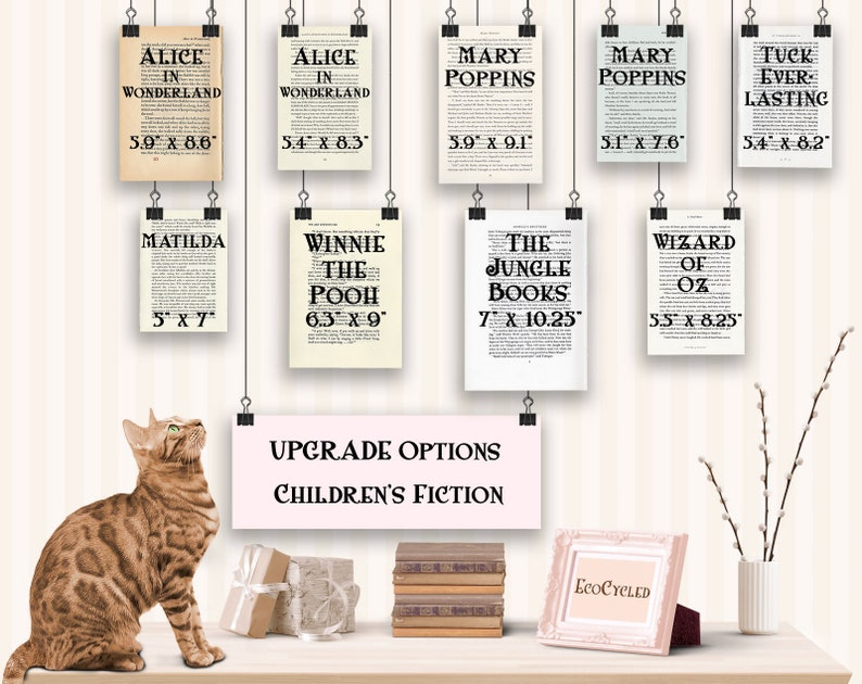 Children's Book Upgrade Book Lover Gift of a Dictionary image 0