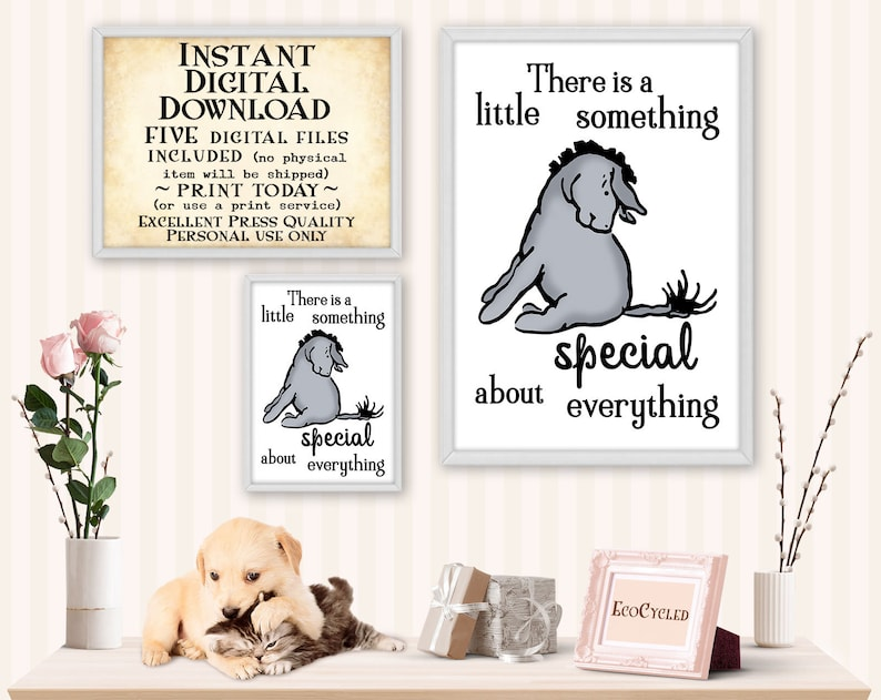 A Little Something Special Everything Eeyore printable wall image 0