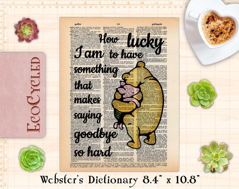 How Lucky I Am Something Makes Saying Goodbye So Hard Classic image 0