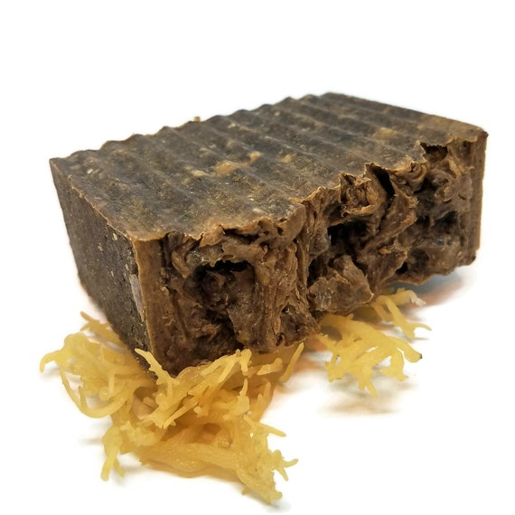 Sea Moss African Black Soap by Etsy