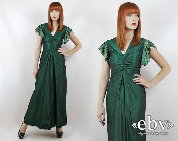 Emerald Green Dress Prom Dress Green Maxi Dress Ev