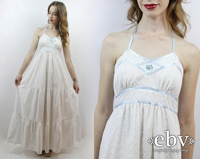 Maxi Jurk Bruiloft.Hippie Jurk Hippie Bruiloft Jurk Boho Wedding Dress Witte Maxi Etsy