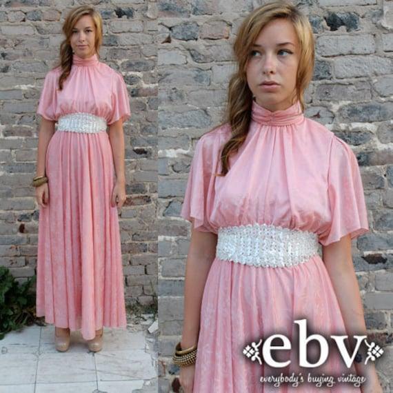 Goddess Dress Hippie Dress Hippy Dress Prom Dress Vintage 70s