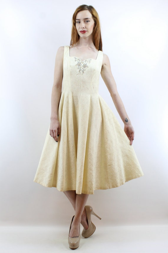 1950s Wedding Dress 50s Wedding Dress 1950s Dress… - image 2