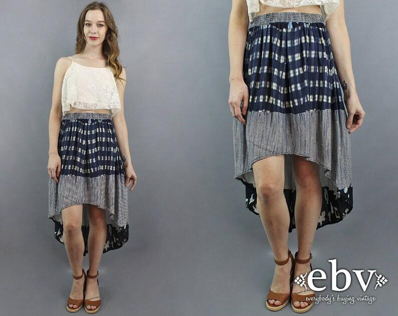 ff33fdb55c High Low Skirt Hi Low Skirt Fishtail Skirt Maxi Skirt 90s | Etsy