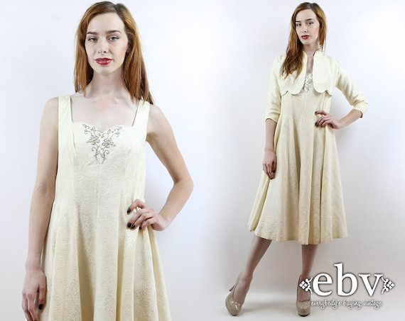 1950s Wedding Dress 50s Wedding Dress 1950s Dress… - image 1