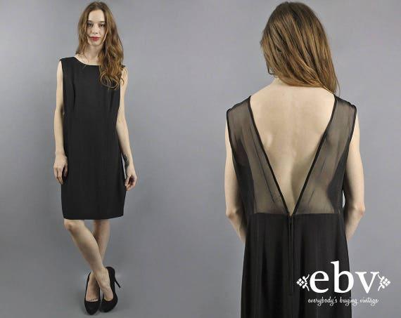 Cocktail Dress Party Dress Black Dress 90s Party D