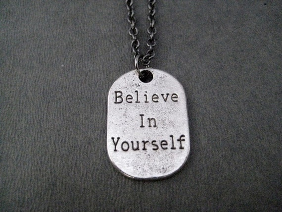 Jewelry Trends Pewter Pendant Love Your Friends Like You Love Yourself with 18 Leather Necklace