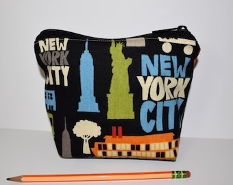 New York Zipper Bag