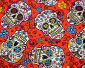 Sugar Skull Day of the Dead Pillowcase
