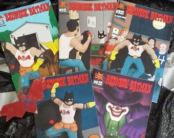 Redneck Batman Comic Books