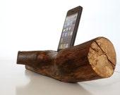 iPhone 5 / 5S / 5C Dock / iPhone 4 / 4S Dock / iPod touch Dock  ( plus USB port - unique desk / office accessory)