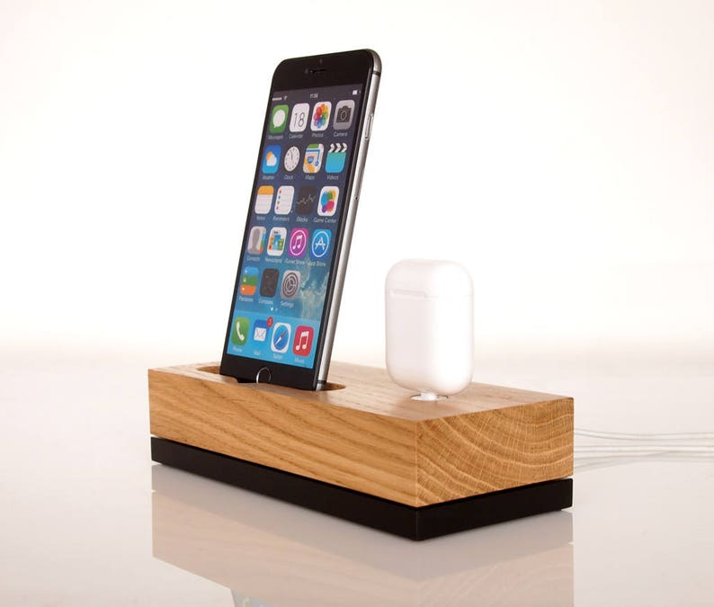 the best attitude d2101 321a8 iPhone dock / AirPods charging dock, iPhone 6 / 7 dock, iPhone 8 dock,  iPhone X / Xr / Xs / Xs Max dock, handcrafted quality