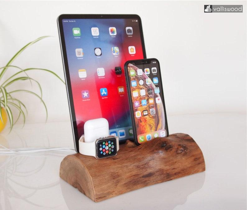 iPhone/iPad/iWatch/AirPods/Apple Tv remote, iPhone 5 to iPhone XS MAX, iPad  dock, iPad Air, iPad 9 7, Samsung galaxy S9+ dock, handmade