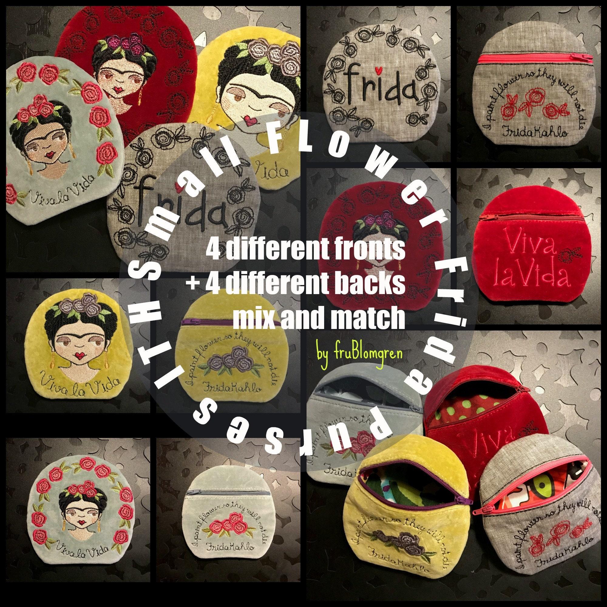 3 blank frames a total of 6 designs Bundle FRAMED FRIDA ROSE all three sizes of my Framed Button Frida Rose save 30/%