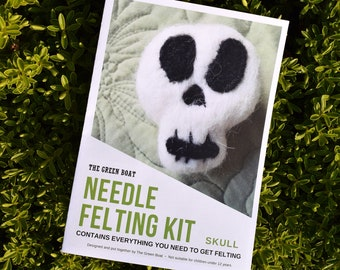 Needle Felting Kit – Skull