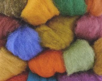 Felting Wool - Random or Choose your own - Perfect for Needle Felting - 100grms