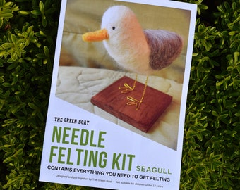 Needle Felting Kit – Seagull