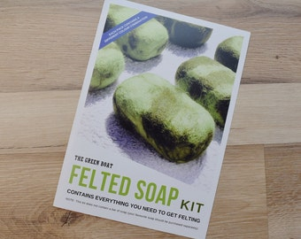 Felted Soap Kit - Everything you need to felt a bar of soap