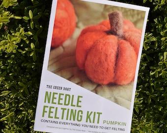 Needle Felting Kit – Pumpkin