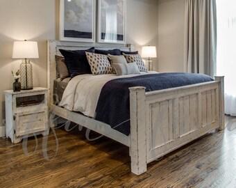 King Bed Frame Etsy