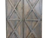 THE KENTUCKY barn door storage cabinet
