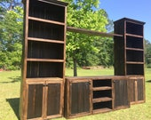 THE TEXAS rustic tv stand