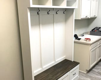 The Virginia Mudroom Lockers Bench Storage Furniture Cubbies