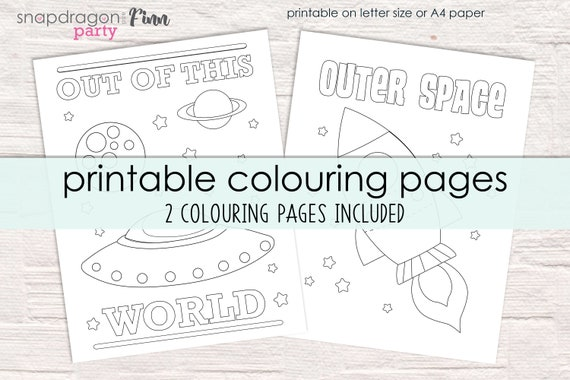 Space Coloring Sheets - Coloring Home   380x570
