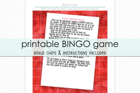 image about Printable Bingo Chips titled Pool Social gathering Bingo Printable Video game - Printable Pool Get together Recreation - Summer season Bash Activity - Summer time Bingo Recreation - Immediate Obtain