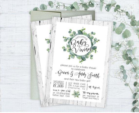 baby shower invitations floral garden baby shower invitations