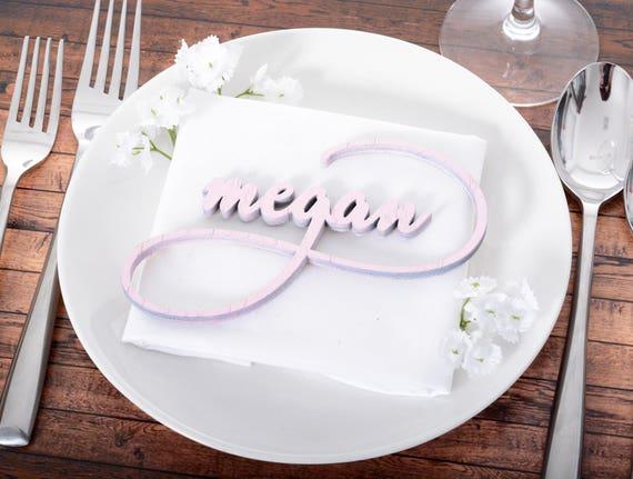 wedding escort cards wood wedding name plates wooden etsy