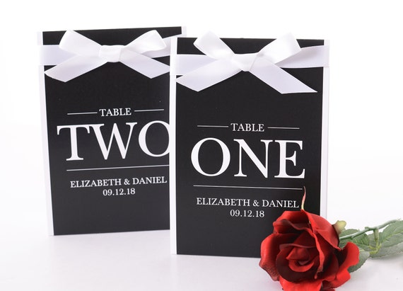 Formal Wedding Table Number Tent Cards Formal Wedding Table Etsy - Wedding table tents