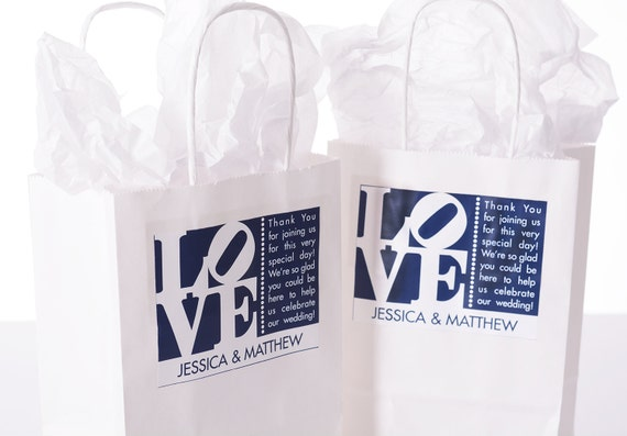 Wedding Welcome Bags - 25 Out of Town Welcome Bags - Hotel Wedding ...