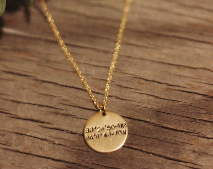 Coordinates Gold/Silver Necklace