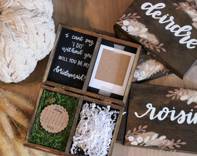 Featured listing image: The Boho Bridesmaid Box